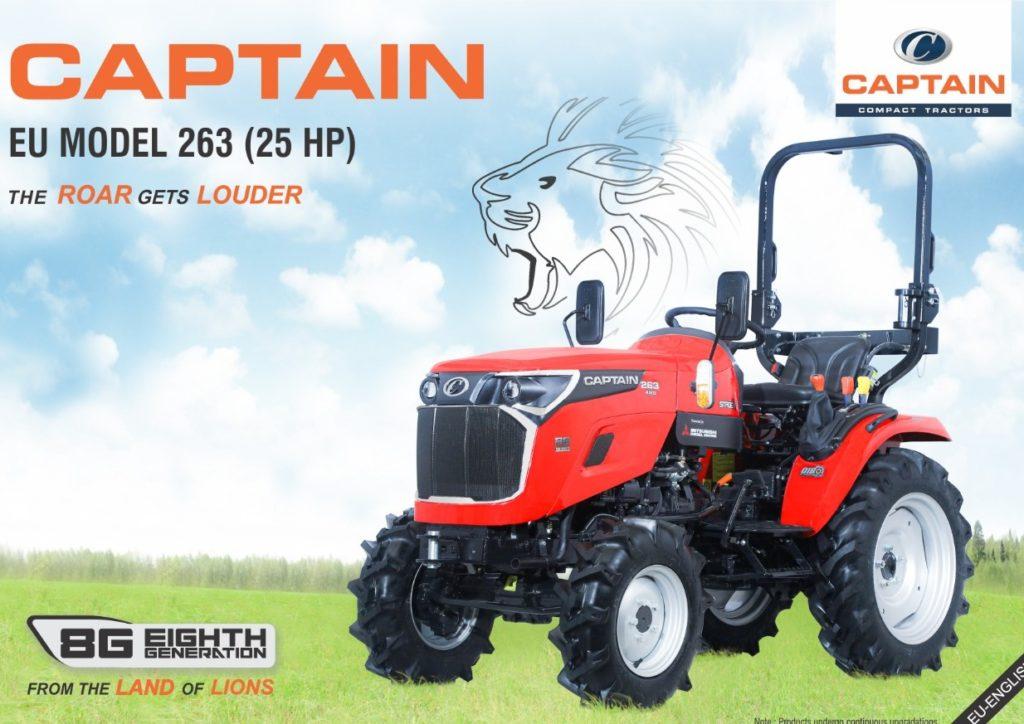 tracteur Captain 2021 - Eurotek